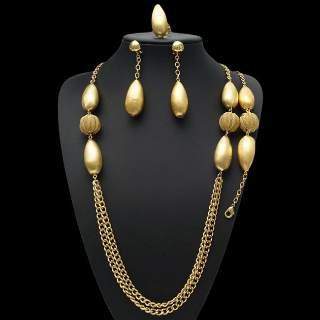 Party Jewelry Sets Necklace Gold Jewellery Dubai Fashion Maang Tikka Designs Images