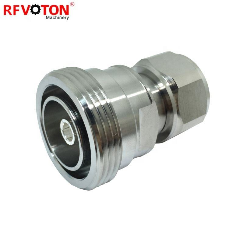 4.3-10 Mini DIN Male Connector to 7/16 DIN Female connector rf adapter