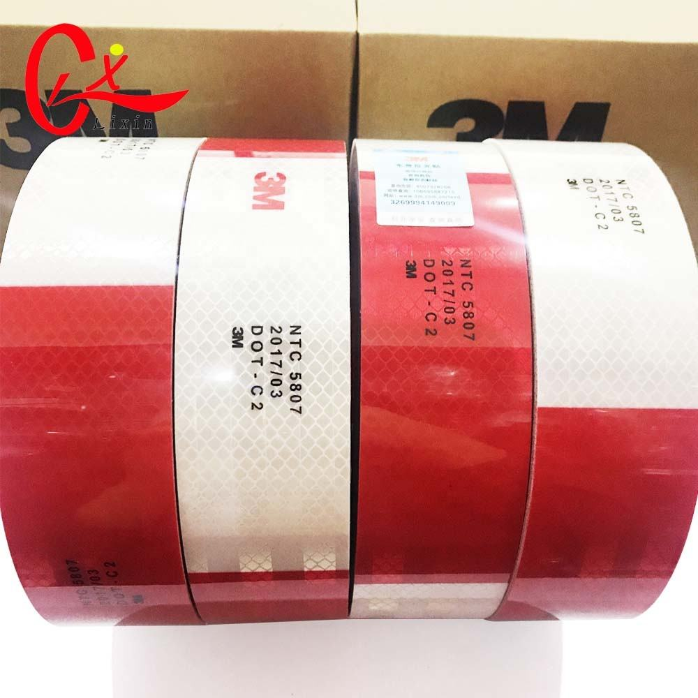 Hot Sale Colombia Market 3mm NTC Reflective Tape Red White for Trunk