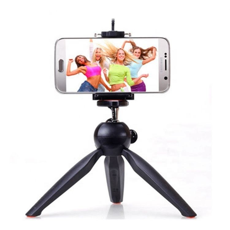 Mini Phone Tripod with Smartphone Mount Clip Holder Stand