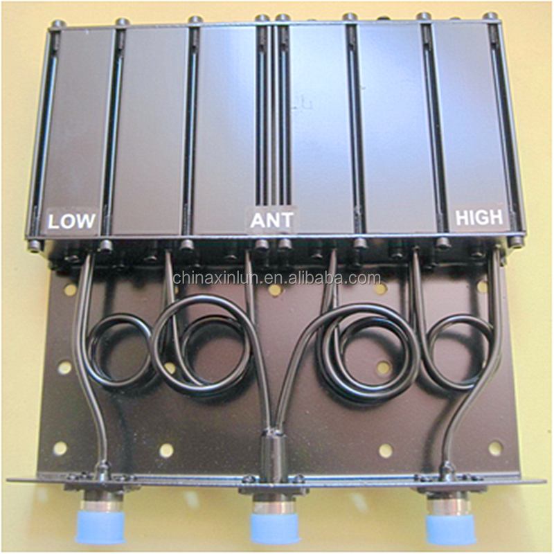 VHF 136-180MHz 50W Duplexer for Base Station Repeater or Mobile Radio VHF 6 Cavity Duplexer