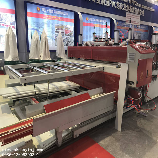 wpc foam board machine/pvc extruder machine
