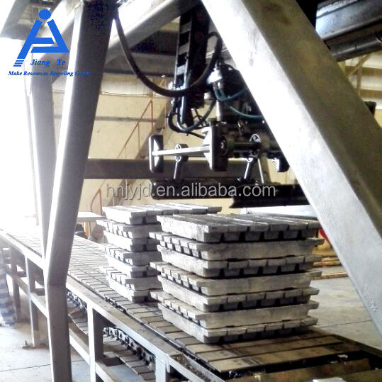 hot sale alloy lead ingot casting machine