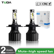 Factory Price Waterproof 9007 9005 H4 H7 Led Headlight,High Lumen Led Car Bulb