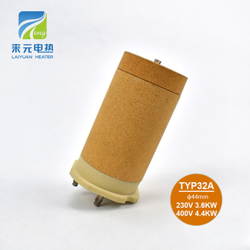 Typ32A 400V 4400W Vacuum Micro Ceramic Heater for Welding Gun