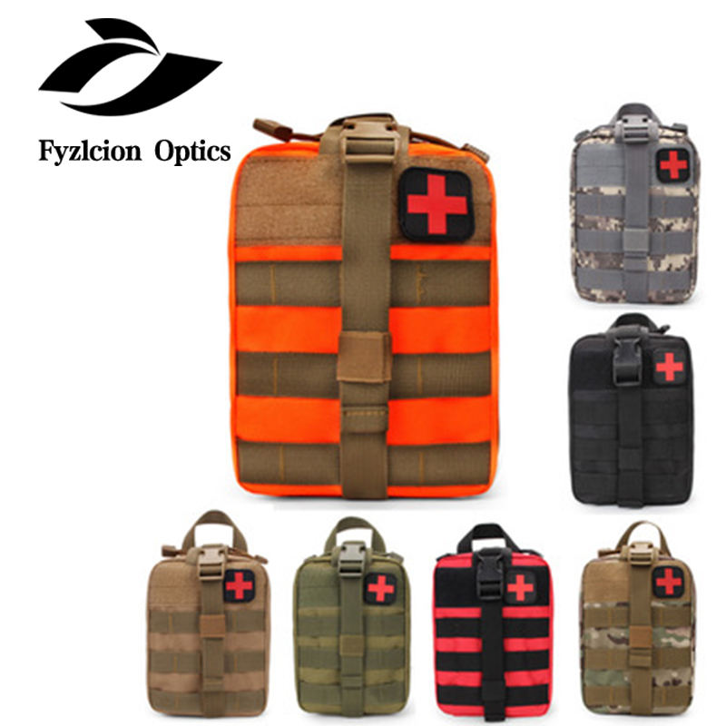 Outdoor EDC Molle Tactical Pouch Bag Notfall Erste-Hilfe-Kit Tasche Reise Camping Wandern Klettern Medical Kits Taschen