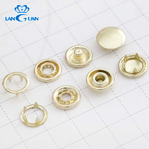 Hot Sale Factory Custom Metal Five Prong Snap Button