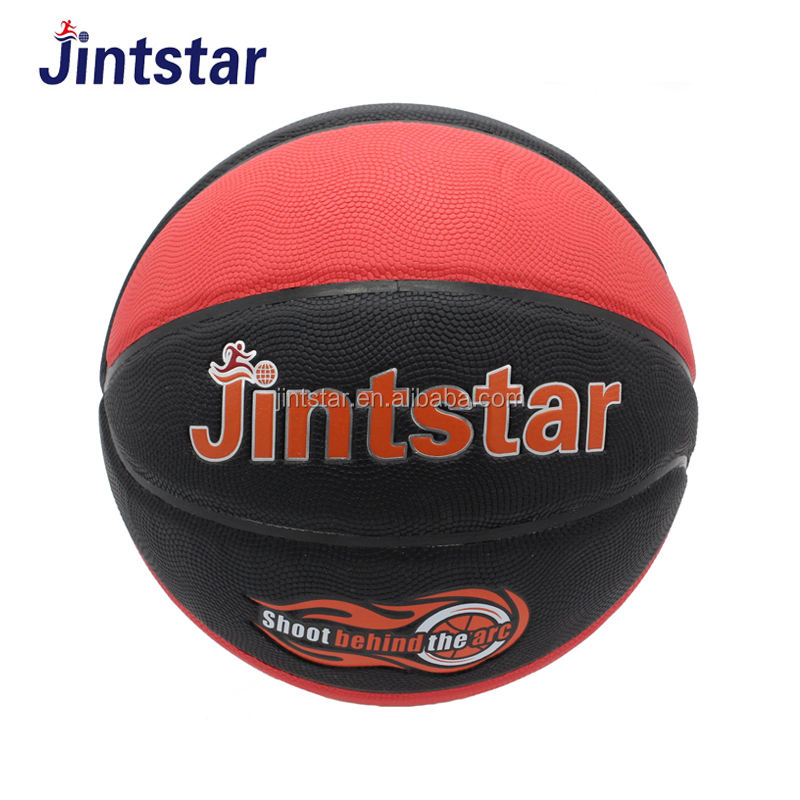 2018 Wholesale 100% leather 18cm 6 panels balloon game ball basketball with custom logo