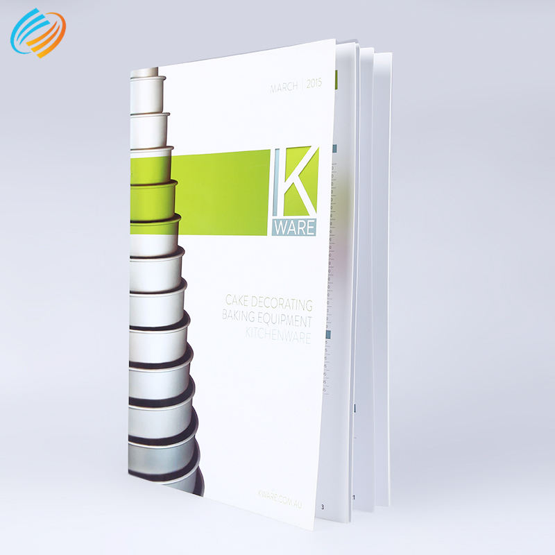 Fashion led light catalogue print brochure of company introduction profile manual printing services