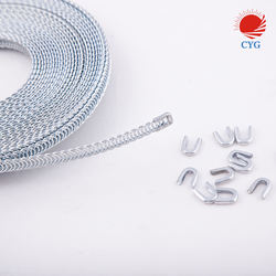 Rolled Type Metal Spiral Steel Bone For Corset Using