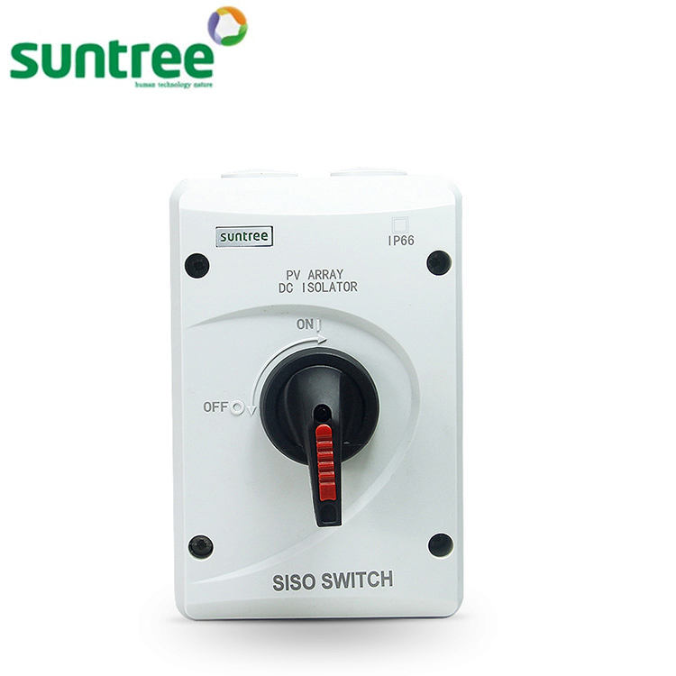 Suntree DC Tahan Air Isolator Switch 1000 V DC Isolator 32A Isolator Switch