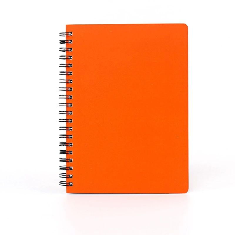 A5 Custom Printed Reinforced And Non Digital Spiral Notebook