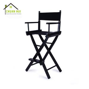 Wholesale Black Tall Wooden Armchair Director