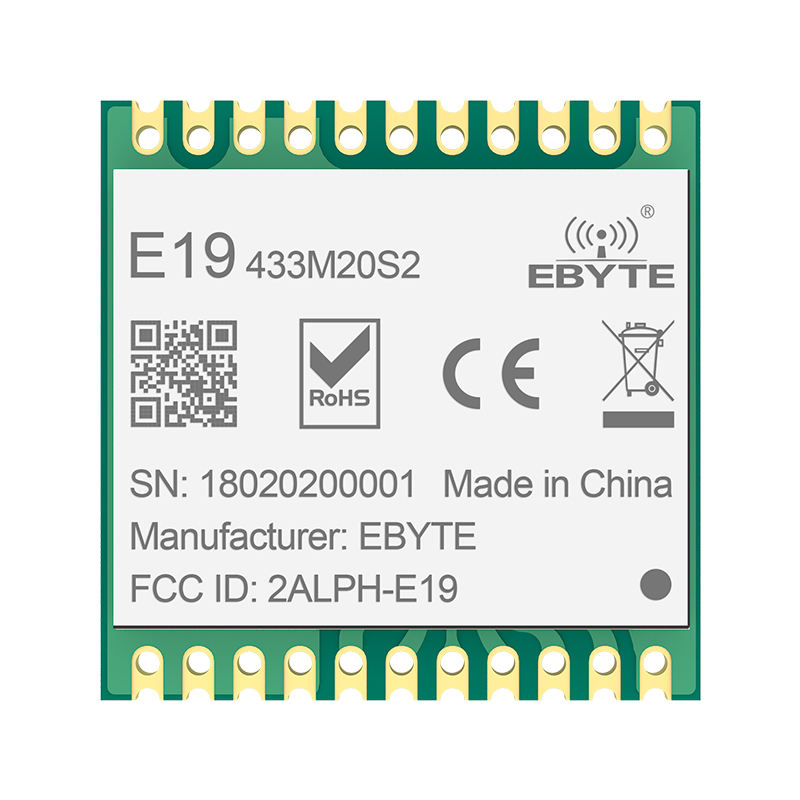 5km long range wireless audio module 100mW sx1278 lora transmitter receiver module 433mhz rf module