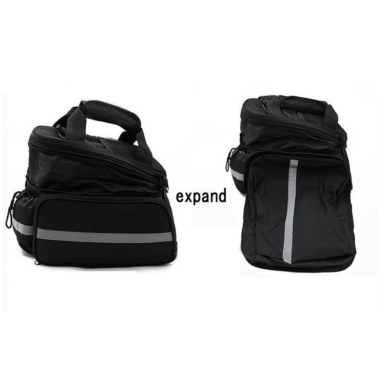 Bicycle double saddle bags,oxford waterproof bicycle pannier bags