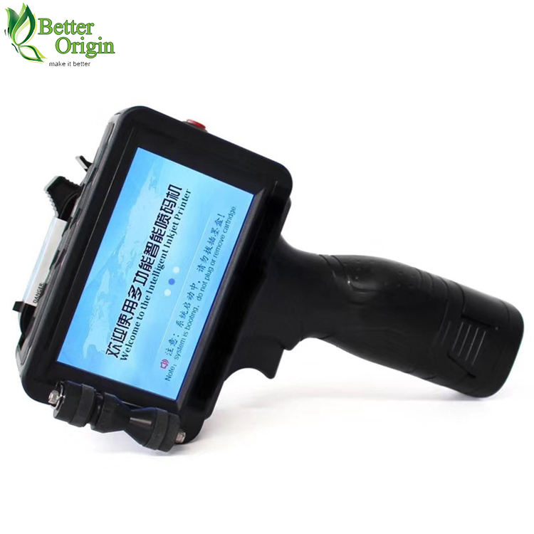 Widely used handheld printer inkjet with intelligent touch screen