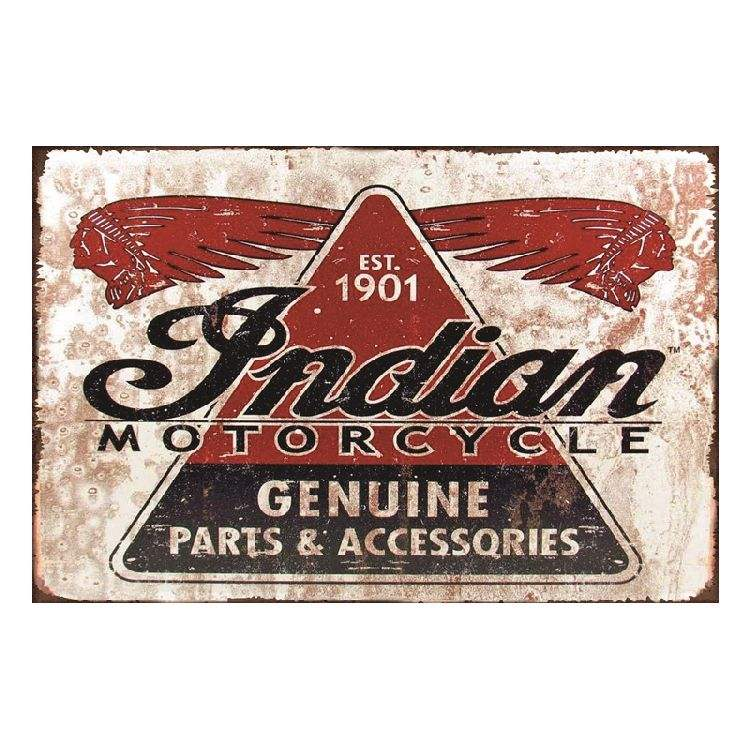 Indian Motorcycle Metal Tin Sign Shop Bar Home Hotel Concert Decor Vintage Poster Antique Iron Painting Souvenirs Festival Gift