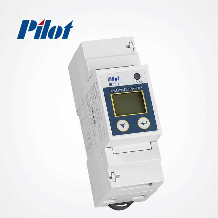PILOT SPM91 single phase modbus kWh energy meter