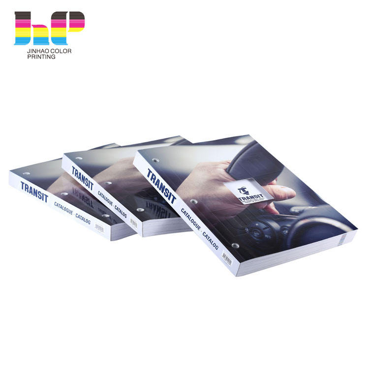 Professional softcover full color catalogs printing in China factory