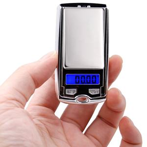 0.01g 100g /200g 0.01g digital display mini Electronic pocket jewelry silver scale car key design household weighing Balance