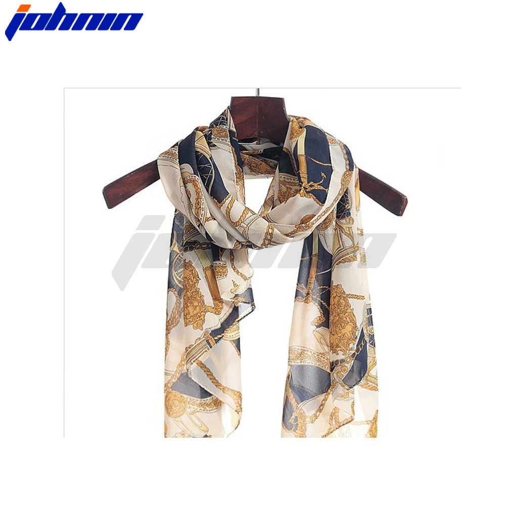 Wholesale custom chiffon scarf with your design