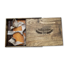 wedding use Photo 4x6 inch Engraved Box USB Flash Drive Wooden Memory Box
