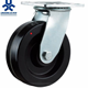 Black High-temp.PA save labour zinc swivel caster and wheels