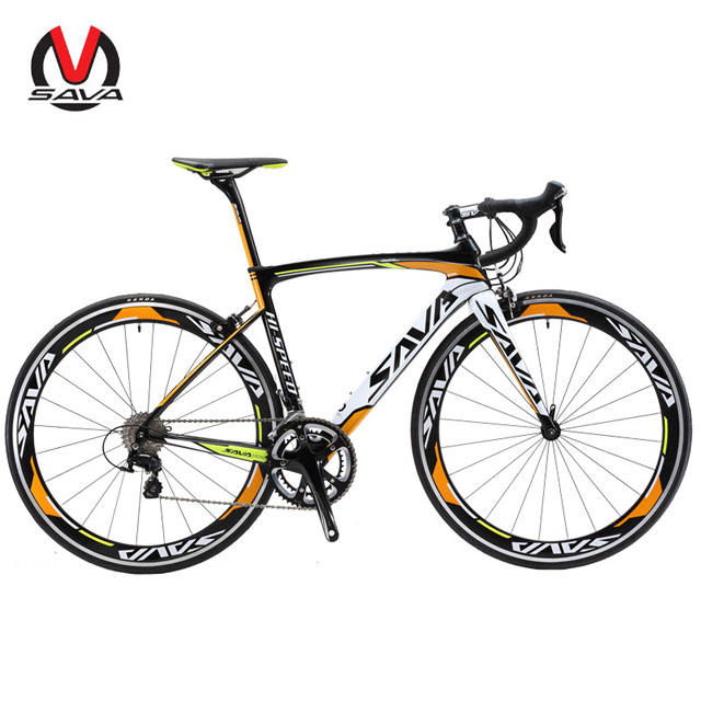 700C*44cm/48cm/50cm/52cm/54cm Size Bike Carbon Frame Road BikeT800 Carbon Fiber Bicycle, Used 105 Groupset