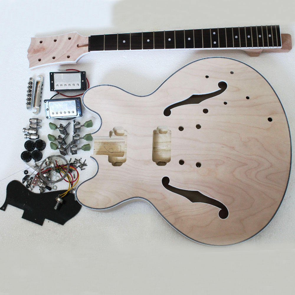 ELECTRIC GUITAR BUILDER KIT DIY WITH ALL ACCESSORIES(K01)