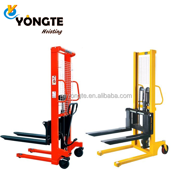 Machinery Forklift Hydraulic Manual Stacker