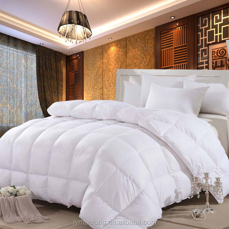 High Quality starke Hotel Used 400GSM Microfiber Filling White <span class=keywords><strong>Quilt</strong></span>