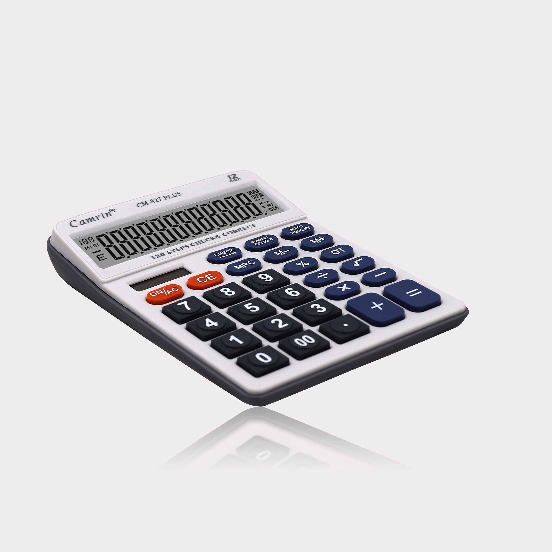 Wholesale Promotion Price Office Supplies Electronic 12 Digit Check Correct Solar Calculator