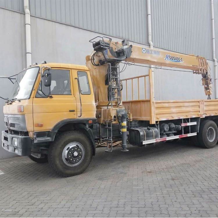 SQ16SK4Q telescopic boom truck mounted crane
