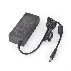 Ul PSE Saa GS AC DC 24 V 2.5A Dinding Desktop 60 W Switch Power Supply AC/DC Adaptor 24vdc 2500ma Putih Hitam 24 V Power Adaptor