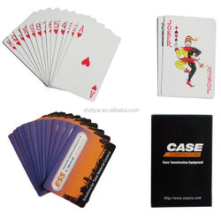 High Quality Custom Advertising Poker Playing Cards