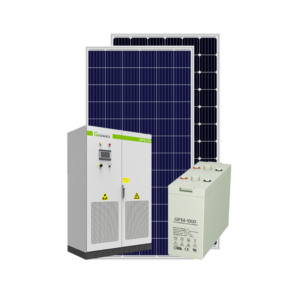 Storage 50KW Power Supply Battery System 50000w Solar Hybrid System 50 KW Commercial
