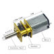 dc motor 12v 500 rpm 3mm Dual Shaft Mini Metal Gear Motor