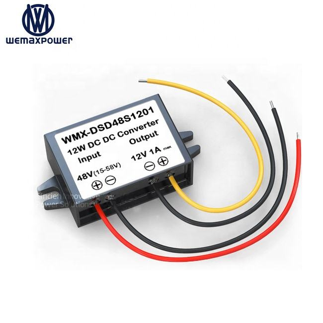 Wemaxpower Car Dc Voltage Buck <span class=keywords><strong>Converters</strong></span> 1a 48 V Naar 12 V Dc Converter Step Down