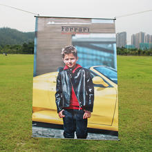 UV Double Sides Printing Outdoor Hanging Poster Banner PVC Vinyl Mesh Banner