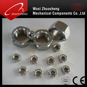 Stainless steel Carbon Steel hex nut with ISO certificate nut manufacturer