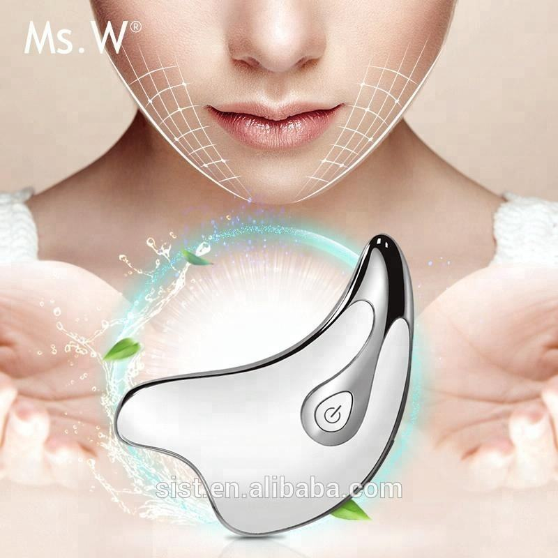 Best Selling Products 2020 in USA Hand Held Face Slimming Machine Ultrasound Home Use Facial Skin Care Device 3D Beauty Massager