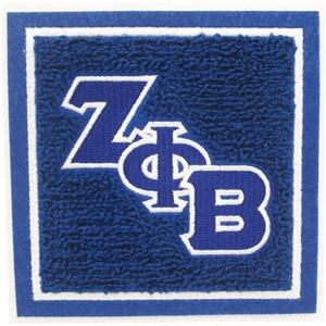 Embroidery manufacturer ZETA PHI BETA chenille patches for clothing