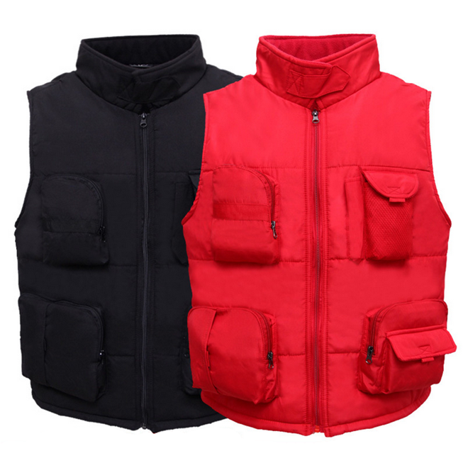 Men Multi-pockets Outdoor Hiking Vest Male Photography Director Reporter Climb Sleeveless Jacket Military Waistcoat