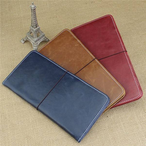 Boshiho leather cover passport synthetic passport holder