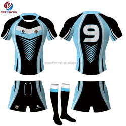 thai quality sublimation customized wholesale rugby jerseys, rugby jersey in thailand