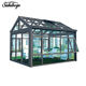 modern design glass sunroom for solarium from china