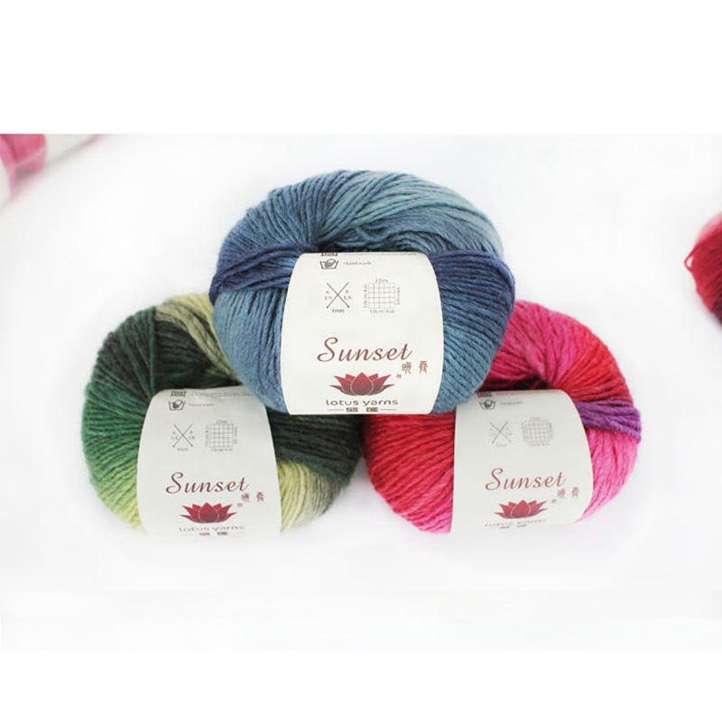 Lotus Yarn sunset wool yarn prices