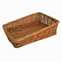 wholesale handmade high quality wicker decorative vegetable basket drawing