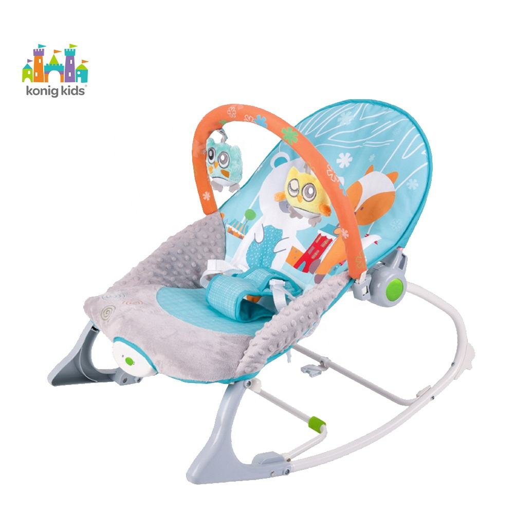 infant to toddler rocker chair Vibrating baby rocking chair with music