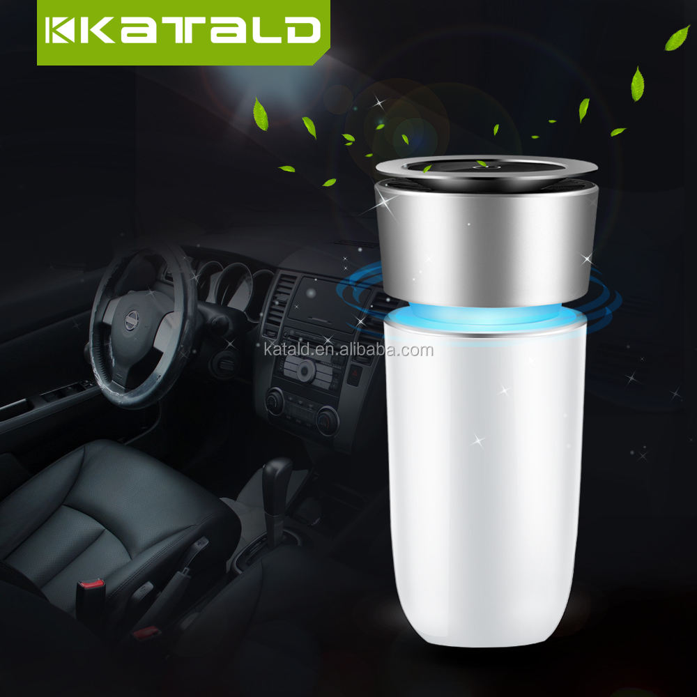 China Katald USB Electric Car Air Purifier Ionizer Mini Anion Car Air Purifier For Car